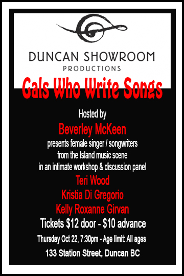 Duncan Showroom - Teri Wood - Gals Who Write Songs